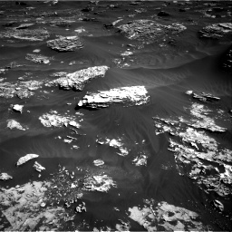 Nasa's Mars rover Curiosity acquired this image using its Right Navigation Camera on Sol 1796, at drive 2180, site number 65