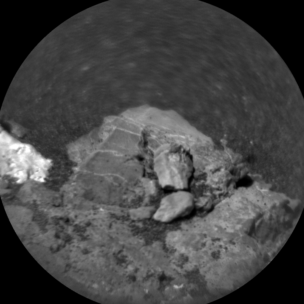 Nasa's Mars rover Curiosity acquired this image using its Chemistry & Camera (ChemCam) on Sol 1796, at drive 1934, site number 65