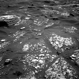 Nasa's Mars rover Curiosity acquired this image using its Right Navigation Camera on Sol 1798, at drive 2186, site number 65