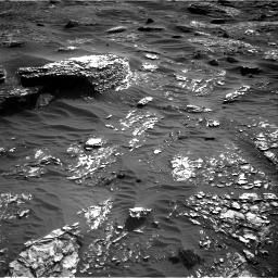 Nasa's Mars rover Curiosity acquired this image using its Right Navigation Camera on Sol 1798, at drive 2204, site number 65