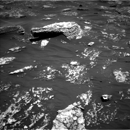 Nasa's Mars rover Curiosity acquired this image using its Left Navigation Camera on Sol 1799, at drive 2210, site number 65