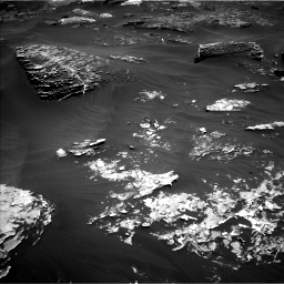Nasa's Mars rover Curiosity acquired this image using its Left Navigation Camera on Sol 1799, at drive 2228, site number 65