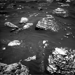 Nasa's Mars rover Curiosity acquired this image using its Left Navigation Camera on Sol 1799, at drive 2270, site number 65