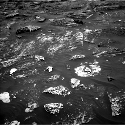 Nasa's Mars rover Curiosity acquired this image using its Left Navigation Camera on Sol 1799, at drive 2390, site number 65
