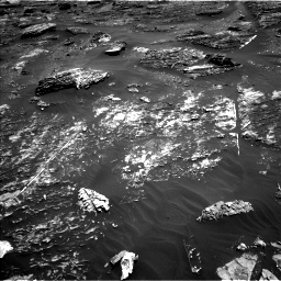 Nasa's Mars rover Curiosity acquired this image using its Left Navigation Camera on Sol 1799, at drive 2408, site number 65