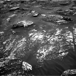 Nasa's Mars rover Curiosity acquired this image using its Left Navigation Camera on Sol 1799, at drive 2414, site number 65