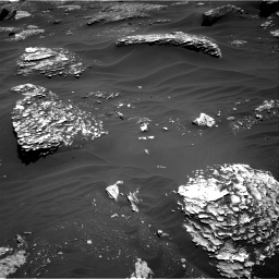 Nasa's Mars rover Curiosity acquired this image using its Right Navigation Camera on Sol 1799, at drive 2312, site number 65