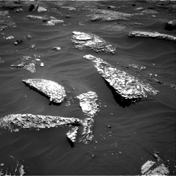 Nasa's Mars rover Curiosity acquired this image using its Right Navigation Camera on Sol 1799, at drive 2324, site number 65