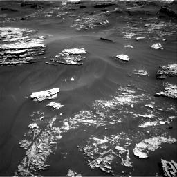 Nasa's Mars rover Curiosity acquired this image using its Right Navigation Camera on Sol 1799, at drive 2342, site number 65