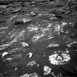 Nasa's Mars rover Curiosity acquired this image using its Right Navigation Camera on Sol 1799, at drive 2402, site number 65