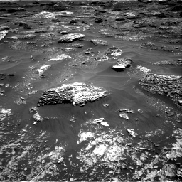 Nasa's Mars rover Curiosity acquired this image using its Right Navigation Camera on Sol 1799, at drive 2432, site number 65