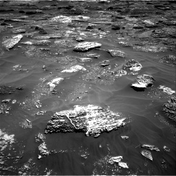 Nasa's Mars rover Curiosity acquired this image using its Right Navigation Camera on Sol 1799, at drive 2438, site number 65