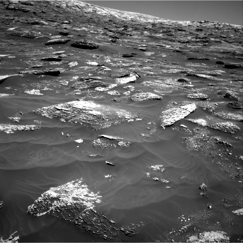 Nasa's Mars rover Curiosity acquired this image using its Right Navigation Camera on Sol 1799, at drive 2456, site number 65