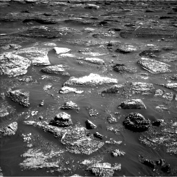 Nasa's Mars rover Curiosity acquired this image using its Left Navigation Camera on Sol 1800, at drive 2492, site number 65