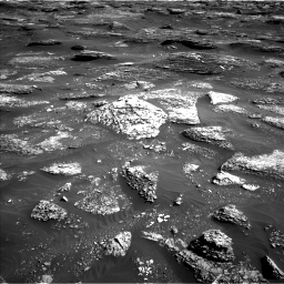 Nasa's Mars rover Curiosity acquired this image using its Left Navigation Camera on Sol 1800, at drive 2510, site number 65