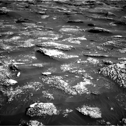 Nasa's Mars rover Curiosity acquired this image using its Left Navigation Camera on Sol 1800, at drive 2528, site number 65