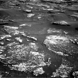 Nasa's Mars rover Curiosity acquired this image using its Left Navigation Camera on Sol 1800, at drive 2570, site number 65