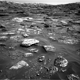 Nasa's Mars rover Curiosity acquired this image using its Right Navigation Camera on Sol 1800, at drive 2462, site number 65
