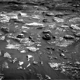 Nasa's Mars rover Curiosity acquired this image using its Right Navigation Camera on Sol 1800, at drive 2486, site number 65