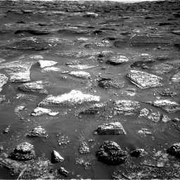 Nasa's Mars rover Curiosity acquired this image using its Right Navigation Camera on Sol 1800, at drive 2498, site number 65