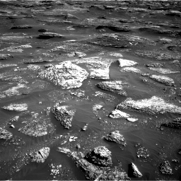 Nasa's Mars rover Curiosity acquired this image using its Right Navigation Camera on Sol 1800, at drive 2510, site number 65