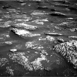 Nasa's Mars rover Curiosity acquired this image using its Right Navigation Camera on Sol 1800, at drive 2534, site number 65