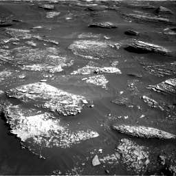 Nasa's Mars rover Curiosity acquired this image using its Right Navigation Camera on Sol 1800, at drive 2552, site number 65