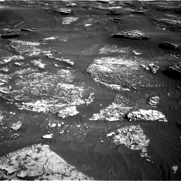 Nasa's Mars rover Curiosity acquired this image using its Right Navigation Camera on Sol 1800, at drive 2564, site number 65
