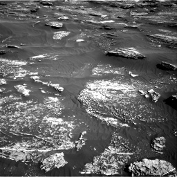 Nasa's Mars rover Curiosity acquired this image using its Right Navigation Camera on Sol 1800, at drive 2570, site number 65