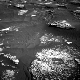 Nasa's Mars rover Curiosity acquired this image using its Right Navigation Camera on Sol 1800, at drive 2582, site number 65