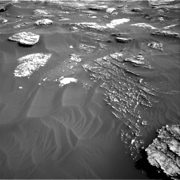 Nasa's Mars rover Curiosity acquired this image using its Right Navigation Camera on Sol 1800, at drive 2606, site number 65