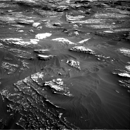 Nasa's Mars rover Curiosity acquired this image using its Right Navigation Camera on Sol 1800, at drive 2624, site number 65