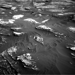 Nasa's Mars rover Curiosity acquired this image using its Right Navigation Camera on Sol 1800, at drive 2630, site number 65