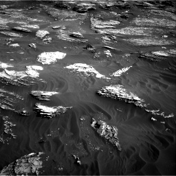 Nasa's Mars rover Curiosity acquired this image using its Right Navigation Camera on Sol 1800, at drive 2636, site number 65