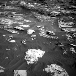 Nasa's Mars rover Curiosity acquired this image using its Right Navigation Camera on Sol 1800, at drive 2660, site number 65