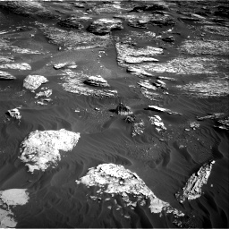 Nasa's Mars rover Curiosity acquired this image using its Right Navigation Camera on Sol 1800, at drive 2666, site number 65