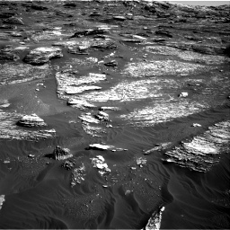 Nasa's Mars rover Curiosity acquired this image using its Right Navigation Camera on Sol 1800, at drive 2678, site number 65