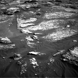 Nasa's Mars rover Curiosity acquired this image using its Right Navigation Camera on Sol 1800, at drive 2684, site number 65