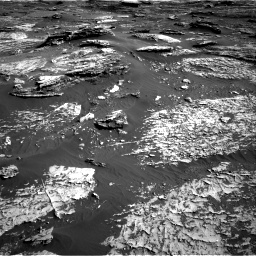 Nasa's Mars rover Curiosity acquired this image using its Right Navigation Camera on Sol 1800, at drive 2714, site number 65