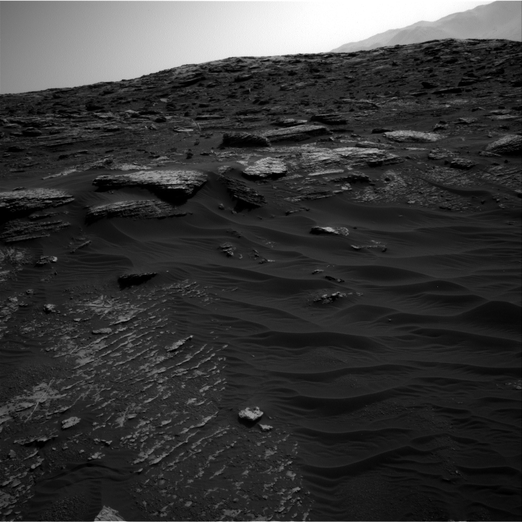 Nasa's Mars rover Curiosity acquired this image using its Right Navigation Camera on Sol 1800, at drive 2720, site number 65