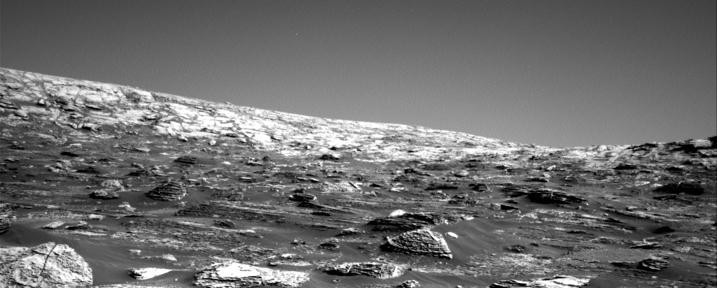NASA's Mars rover Curiosity acquired this image using its Right Navigation Cameras (Navcams) on Sol 1800