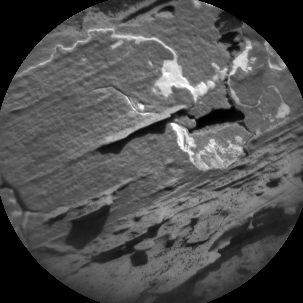 Nasa's Mars rover Curiosity acquired this image using its Chemistry & Camera (ChemCam) on Sol 1800, at drive 2456, site number 65