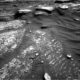 Nasa's Mars rover Curiosity acquired this image using its Left Navigation Camera on Sol 1802, at drive 2750, site number 65