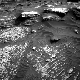 Nasa's Mars rover Curiosity acquired this image using its Left Navigation Camera on Sol 1802, at drive 2762, site number 65
