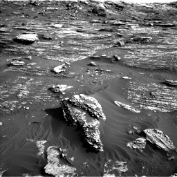 Nasa's Mars rover Curiosity acquired this image using its Left Navigation Camera on Sol 1802, at drive 2828, site number 65