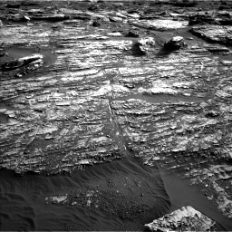 Nasa's Mars rover Curiosity acquired this image using its Left Navigation Camera on Sol 1802, at drive 2870, site number 65