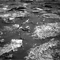 Nasa's Mars rover Curiosity acquired this image using its Right Navigation Camera on Sol 1802, at drive 2720, site number 65