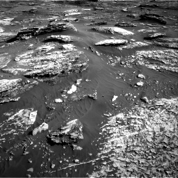 Nasa's Mars rover Curiosity acquired this image using its Right Navigation Camera on Sol 1802, at drive 2732, site number 65