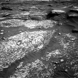 Nasa's Mars rover Curiosity acquired this image using its Right Navigation Camera on Sol 1802, at drive 2744, site number 65