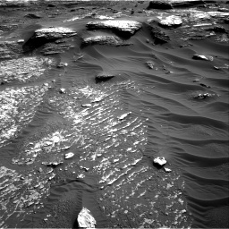 Nasa's Mars rover Curiosity acquired this image using its Right Navigation Camera on Sol 1802, at drive 2750, site number 65